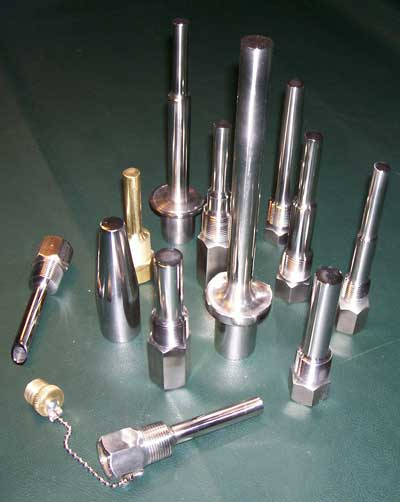 Quality control thermowells